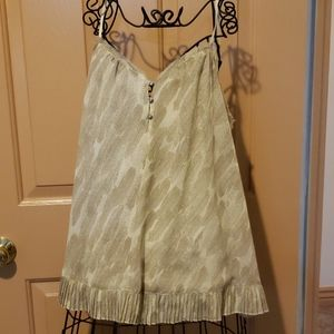 Spaghetti Strap Top Princess Vera Wang Large